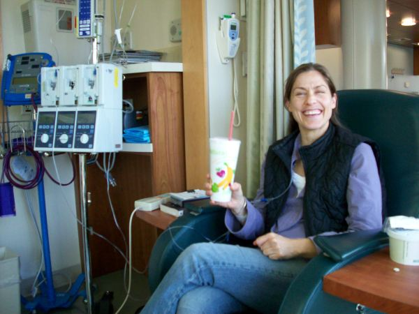 first chemo!